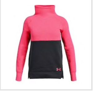 Under Armour Girls Fleece Slouchy long sleeve top